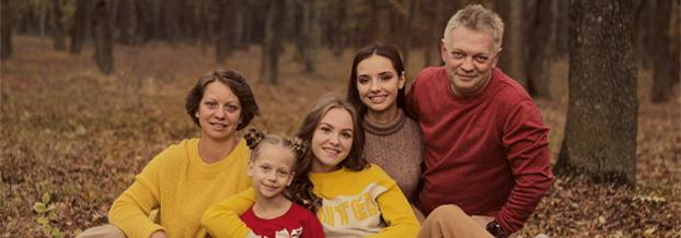 Семья Натальи Игошиной
