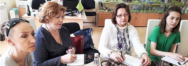 В «GRIмёрке» по-московски прошел заключительный урок стильного макияжа