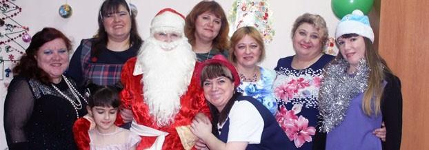 Новогодний праздник в Дзержинске