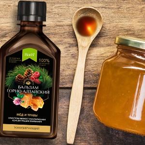 Горно-алтайские медовые бальзамы