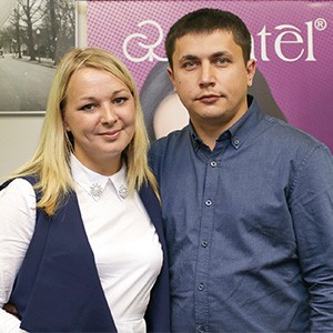 Анна и Александр Поликарповы