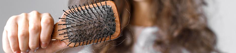 Сколько волос остается на расческе?